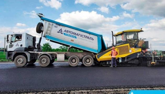 Заканчивается строительство трассы от Павлограда в направлении Донетчины