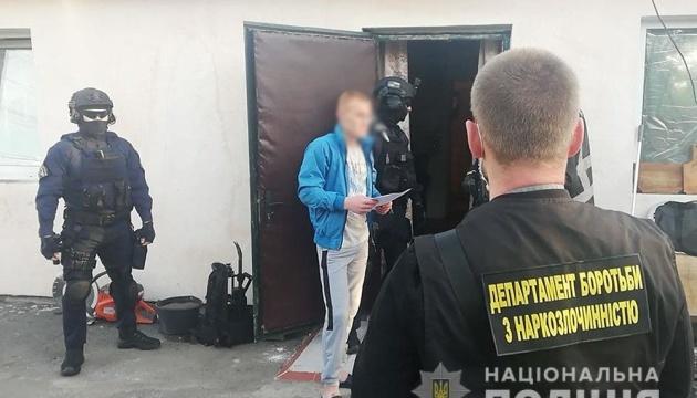 Під Києвом поліція ліквідувала три нарколабораторії