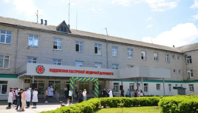У Каневі повністю оновили приймальне відділення лікарні