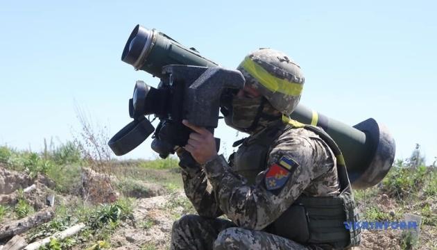 Військові провели навчання із Javelin та безпілотниками Bayraktar TB2