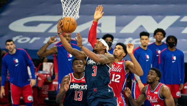 «Вашингтон» Леня програв «Філадельфії» у другому матчі серії плей-офф НБА