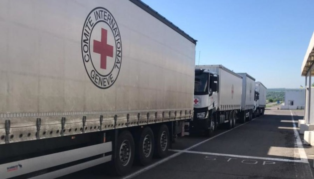 Over 100 t of humanitarian aid delivered to occupied territories of eastern Ukraine
