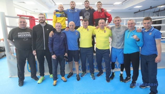 10 украинских боксеров будут бороться за олимпийские лицензии в Париже