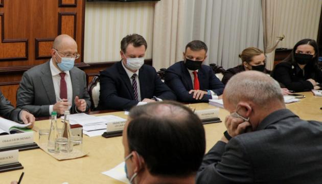 Szmyhal omówił z posłami Unii Europejskiej, Stanów Zjednoczonych i Wielkiej Brytanii wdrażanie reform