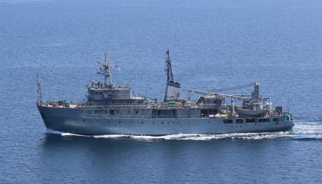 Armadas de Ucrania y Reino Unido realizan ejercicios tipo PASSEX en el mar Negro