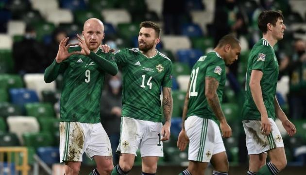 Северная Ирландия назвала состав на матч с футболистами сборной Украины