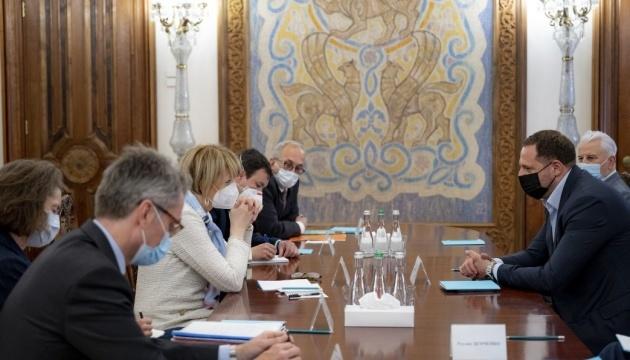 Yermak, Schmid discuss situation in eastern Ukraine