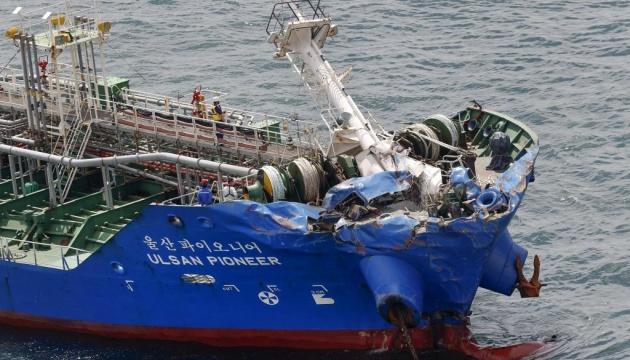 Біля берегів Японії знову зіткнулися вантажні судна