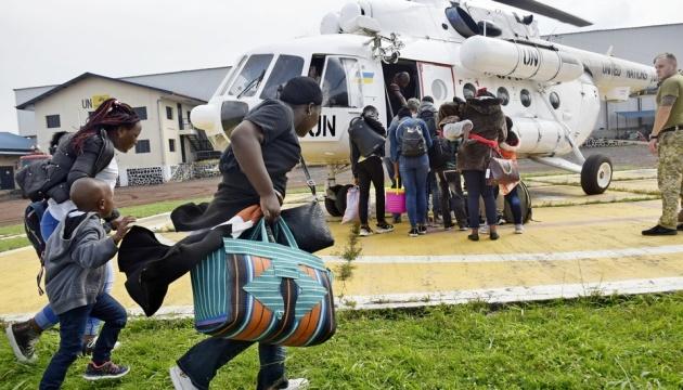 Извержение вулкана в Конго - украинские миротворцы участвуют в эвакуации населения