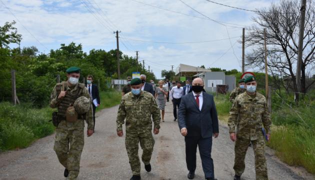 Немчинов посетил прифронтовое Лебединское