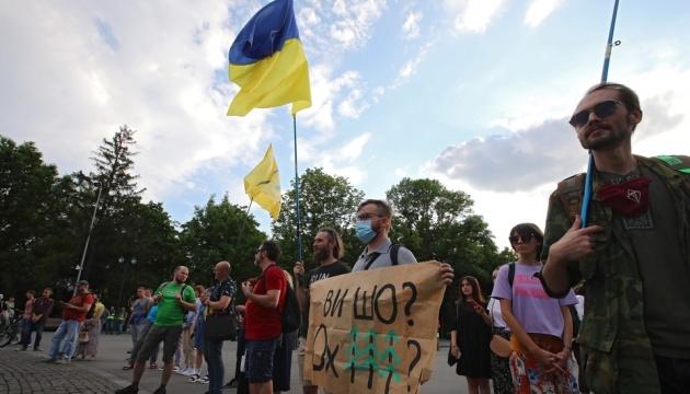У Харкові відповіли концертом на заборону музикантам грати в Саду Шевченка