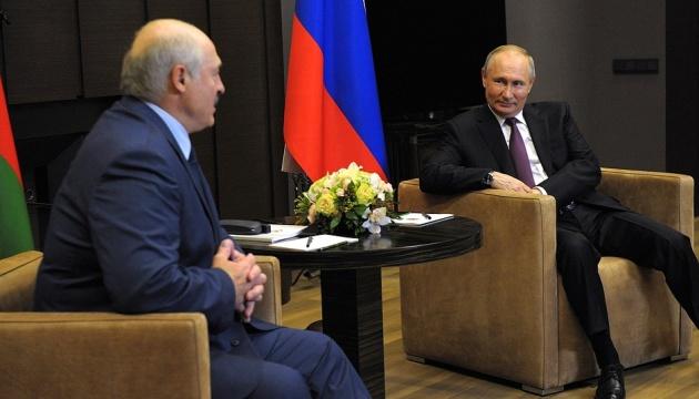 Зустріч Путіна і Лукашенка: «Дорожня карта» в російський глухий кут