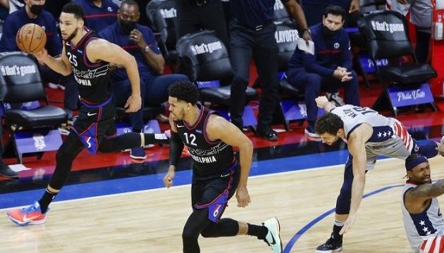 «Вашингтон» Леня проиграл «Филадельфии» третий матч в серии плей-офф НБА