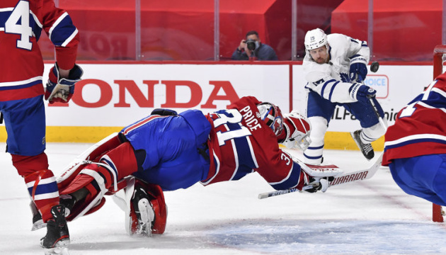 НХЛ: «Монреаль» обіграв «Торонто» і зрівняв рахунок в серії плей-офф Кубка Стенлі