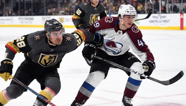 НХЛ: «Колорадо» в овертаймі вдруге переміг «Вегас» в серії плей-офф Кубка Стенлі