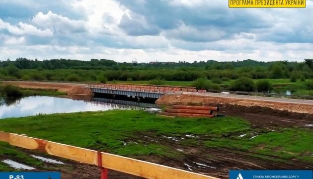 На Чернігівщині почали спорудження мосту через річку Снов