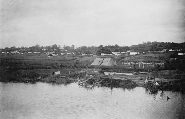 аеродром у селі Плотича під Тернополем, початок ХХ століття