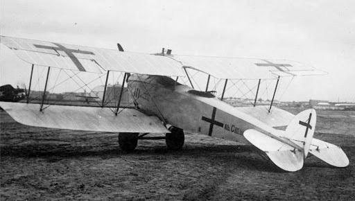 """винищувач-розвідник """"Albatros С.III"""""""