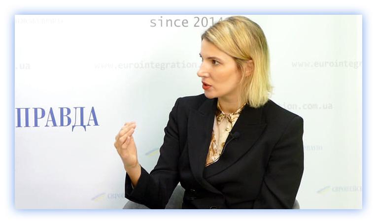 Любов Цибульська, керівниця Центру стратегічних комунікацій та інформаційної безпеки