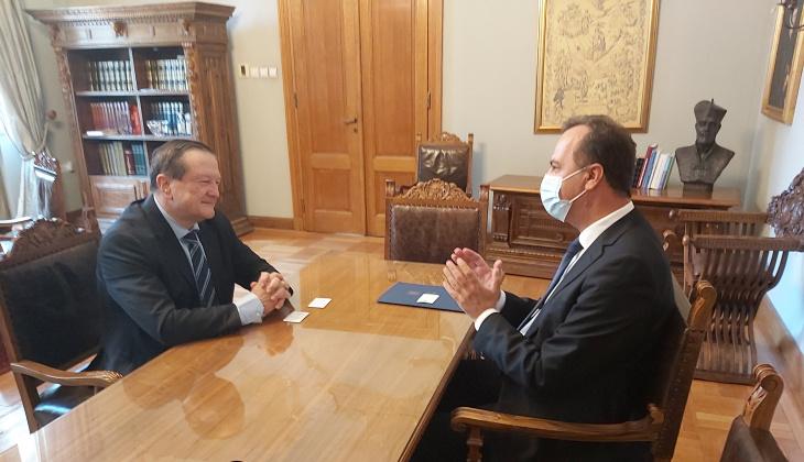 Зустріч з проф. Даміром Борасом