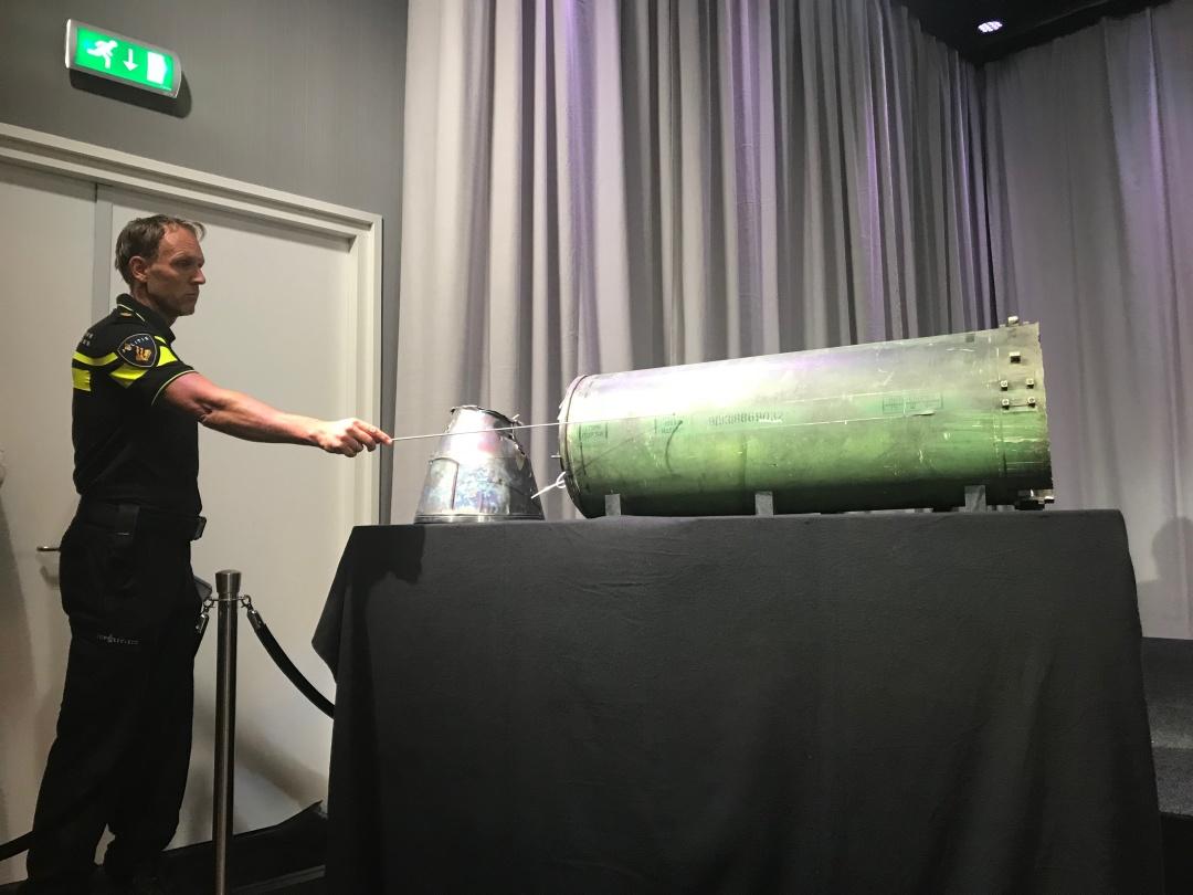 Частини ракети російської установки «Бук»