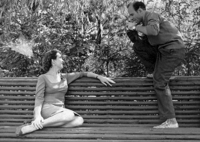 Женя з другом Вадимом Бруком / Фото з архіву Дмитра Брука