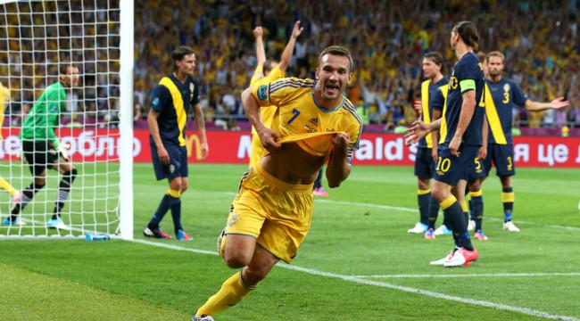 Євро-2012. Україна - Швеція. Тріумф Андрія Шевченка