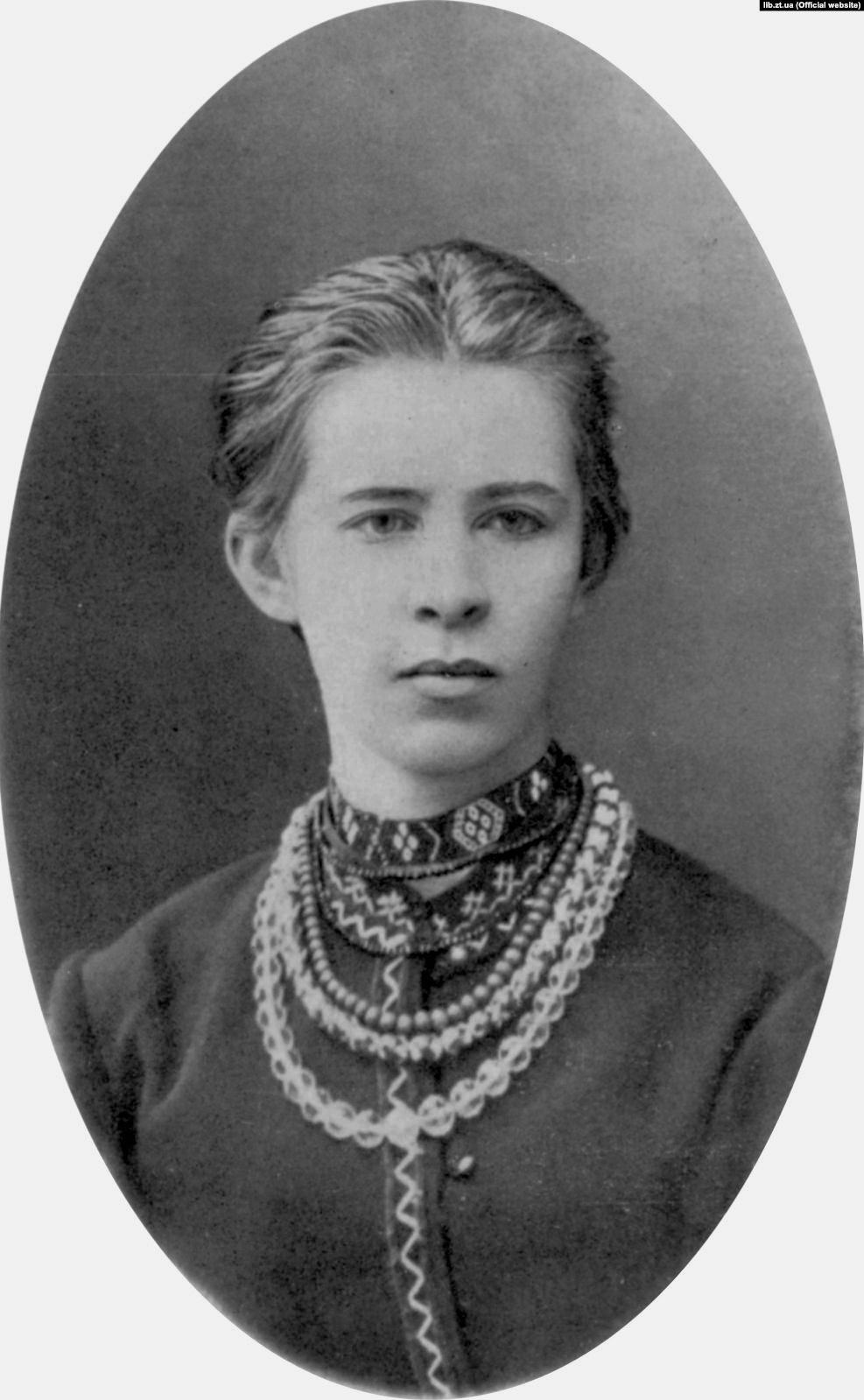 Леся Українка, 1886 р.