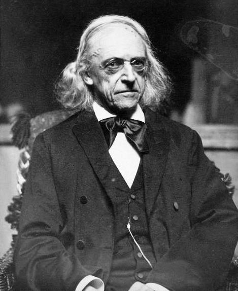 німецький історик, філолог і політик Теодор Моммзен 1