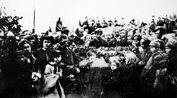 прощання із Т.Г.Шевченком у Києві, 18 травня 1861 р.