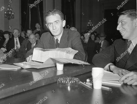 Вальтер Кривицкий дает показания в комитету Конгресса США