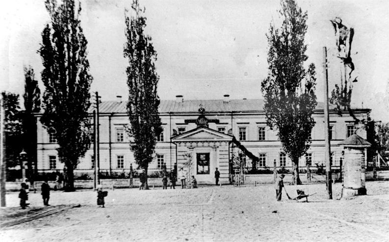 Волинська губернська гімназія у Житомирі, 1920-ті рр.