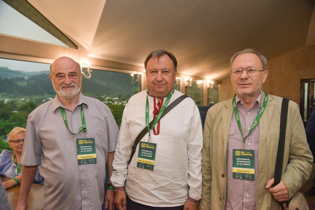 На Форуме «Via Carpatia» вручили премию Винценза