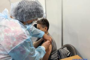В Украине за сутки сделали еще более 38 тысяч COVID-прививок