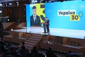 """Selenskyj eröffnet Forum """"Ukraine 30. Ökologie"""""""
