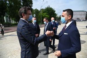 Kouleba rencontre le ministre italien des Affaires étrangères à Kyiv