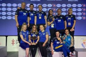 Украина выиграла 8 медалей в женской борьбе на турнире в Варшаве
