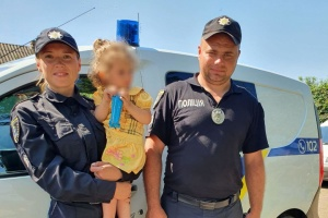 На Миколаївщині знайшли дворічну дівчинку, яку шукали всю ніч