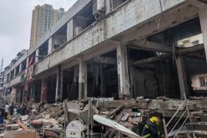 В Китае произошел масштабный взрыв газа, 12 погибших