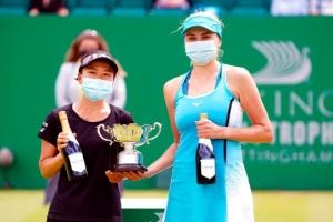 Людмила Киченок выиграла парный турнир WTA 250 в Ноттингеме