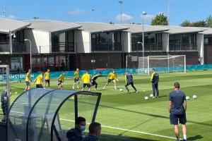 У Амстердамі збірна України провела тренування перед матчем з Нідерландами