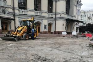 У Києві відремонтують Театральну площу