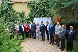 У Скоп'є українська громада взяла участь у зустрічі з парламентською делегацією України