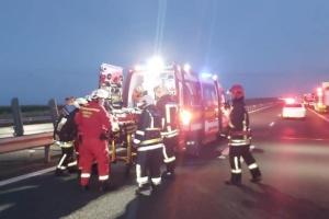 Микроавтобус с украинцами попал в смертельное ДТП в Румынии