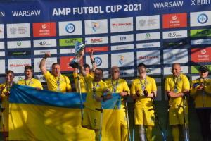 Збірна України з футболу серед осіб з інвалідністю посіла на турнірі у Варшаві друге місце