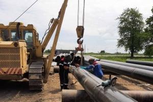 На кордоні з Польщею оновлюють магістральний газопровід