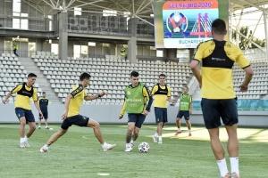 Збірна України змінила стадіон для тренувань в Бухаресті