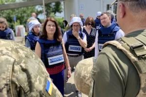 Глава ОБСЕ настаивает на открытии пунктов пропуска со стороны ОРДЛО