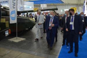 Таран на виставці «Зброя та безпека-2021»: Все приміряємо до стандартів НАТО
