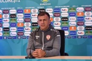 Тренер сборной Северной Македонии Ангеловски: с Украиной будем играть только на победу